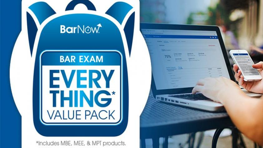 BarNow study aids, MPRE 2, Everything Pack and more. Visit the NCBE study aids page to learn more.